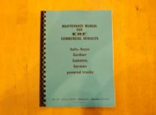 ERF.B series.Maintenance manual.TSP.68.Dated 1979.
